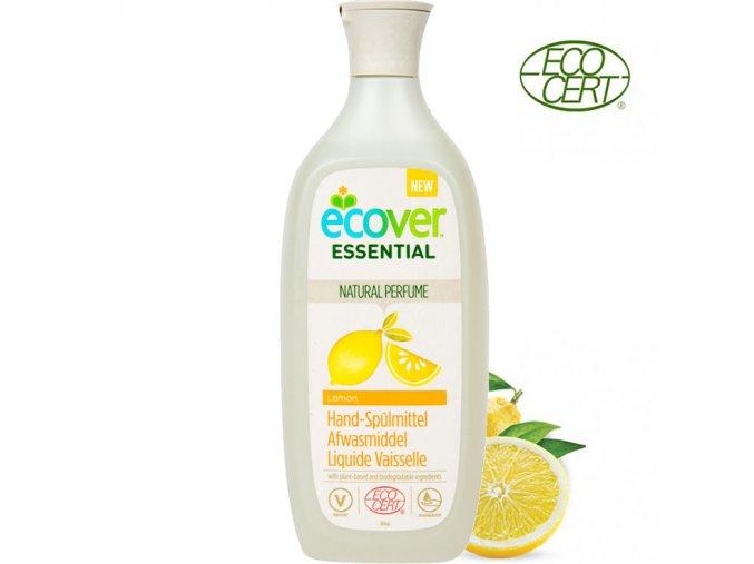 ecover essential pripravek na myti nadobi citron 500ml ecocert