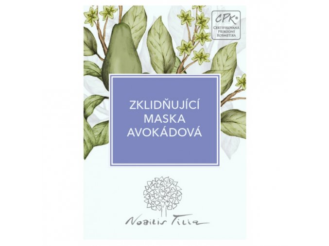 vzorek nobilis tilia zklidnujici maska avokadova 3ml