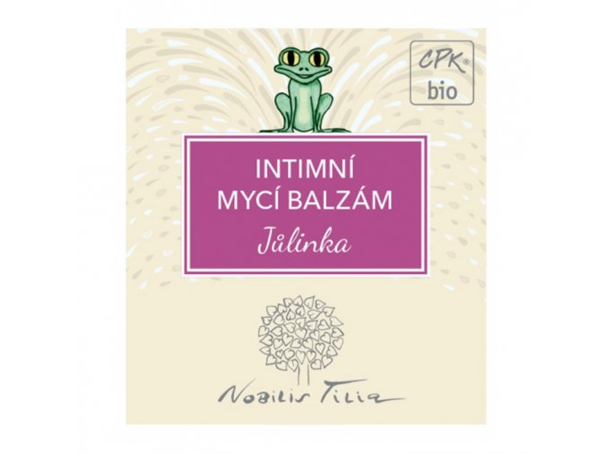 vzorek nobilis tilia myci intimni balzam julinka 1ml