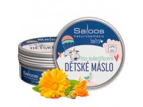 saloos bio slehane mesickove detske maslo 150ml