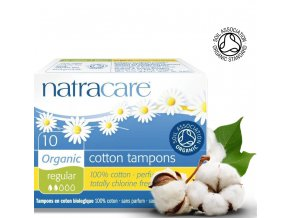 natracare tampony REGULAR 10ks
