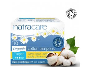 natracare tampony super 10ks