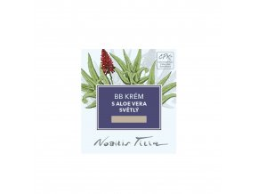 nobilis tilia bb krem s aloe vera svetly 30ml