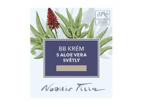 vzorek nobilis tilia bb krem s aloe vera svetly 30ml