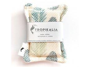 tropikalia kompostovatelna bavlnena houbicka s prirodni celulozou