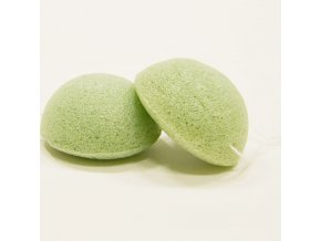konjac zelena konjakova houbicka s aloe vera na suchou a citlivou plet