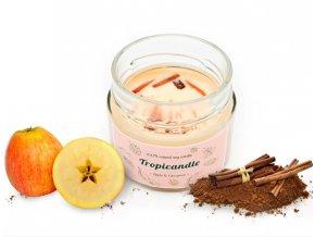 tropikalia prirodni sojova svicka tropicandle apple cinnamon