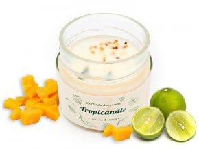 tropikalia prirodni sojova svicka tropicandle thai lime mango