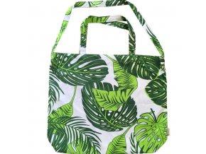 tropikalia nakupni bavlnena taska tropic xl