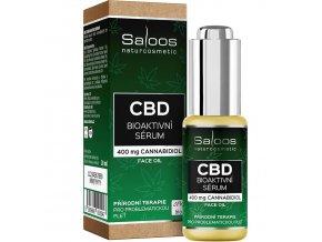 saloos cbd bioaktivni serum 20 ml