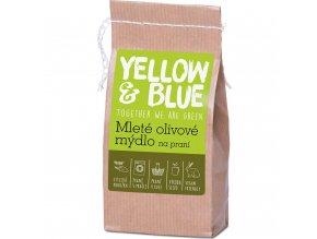 yellow blue mlete olivove mydlo na prani 200 g
