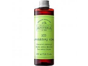havlikova apoteka avokadovy olej 200ml