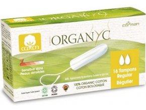organyc tampony regular 16ks