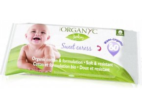 organyc detske cistici ubrousky 60ks