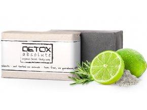 soaphoria detox absolute organicke mydlo na oblicej a telo 100ml