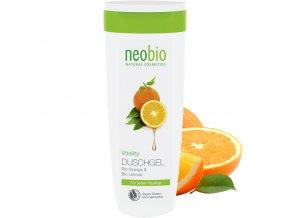 neobio sprchovy gel vitality bio pomeranc a limetka 250ml