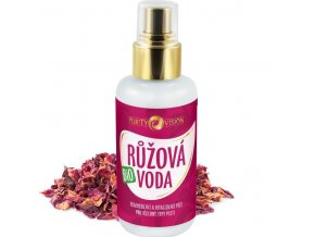 purity vision ruzova voda bio 100ml