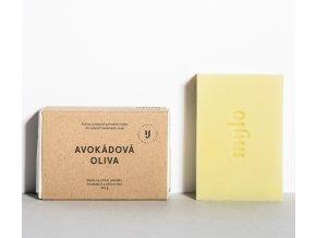 mylo avokadova oliva avokadove mydlo bez esencialnich oleju 100g
