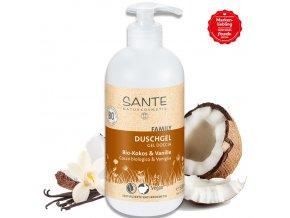 sante sprchovy gel bio kokos vanilka 500ml