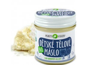purity vision detske telove maslo bio 120ml