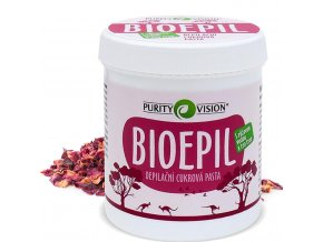 purity vision bioepil depilacni cukrova pasta 400g