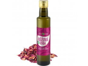 purity vision ruzova voda bio 250ml