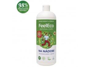 feel eco prostredek na nadobi s vuni maliny 1l