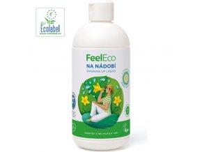 feel eco prostredek na nadobi s vuni okurky 500ml