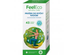 feel eco cistici prostredek do mycky prasek 800g
