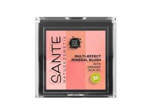 sante ruz na tvare multi effect beauty blush 01 koralova 8g