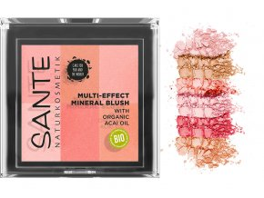 sante ruz na tvare multi effect beauty blush 01 koralova 8g