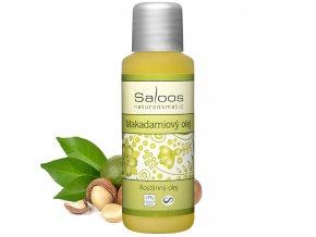 saloos makadamiovy olej bio 50ml