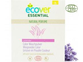 ecover essential praci prasek na barevne pradlo 1 2kg ecocert