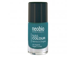neobio lak na nehty 09 precious turquoise 8ml