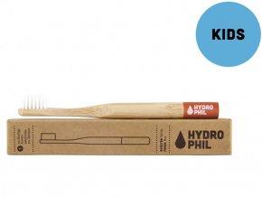 hydrophil bambusovy kartacek pro deti cerveny soft