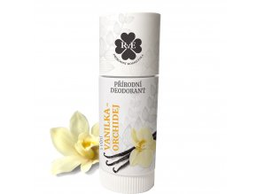 rae prirodni deodorant roll on bio vanilka a orchidei 25ml