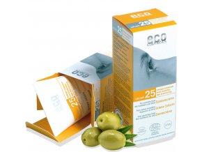 eco cosmetics opalovaci krem spf25 bio 75ml