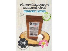 rae nahradni napln prirodni deodorant tuhy bio indicky lotos