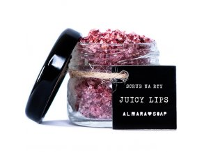 almara soap scrub na rty juicy lips 22g