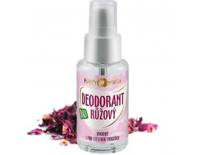 purity vision ruzovy deodorant bio 50ml