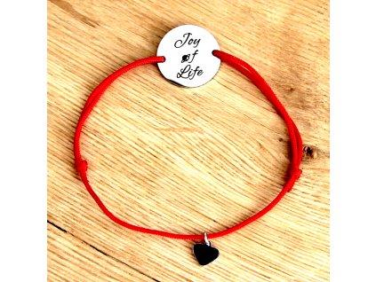 červený provazek 1 strana