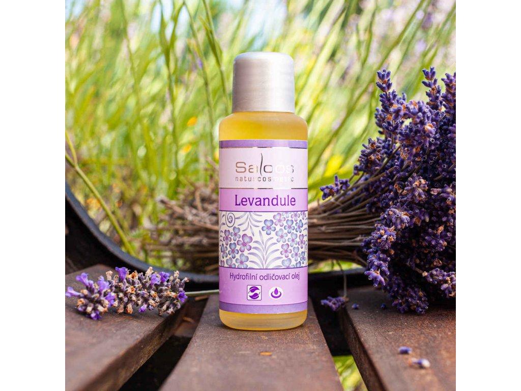 Saloos hydrofilní odličovací olej Levandule (varianta 1000ml)