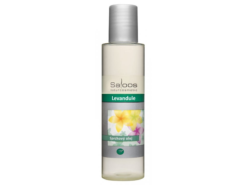 Saloos Levandule sprchový olej (varianta 250ml)