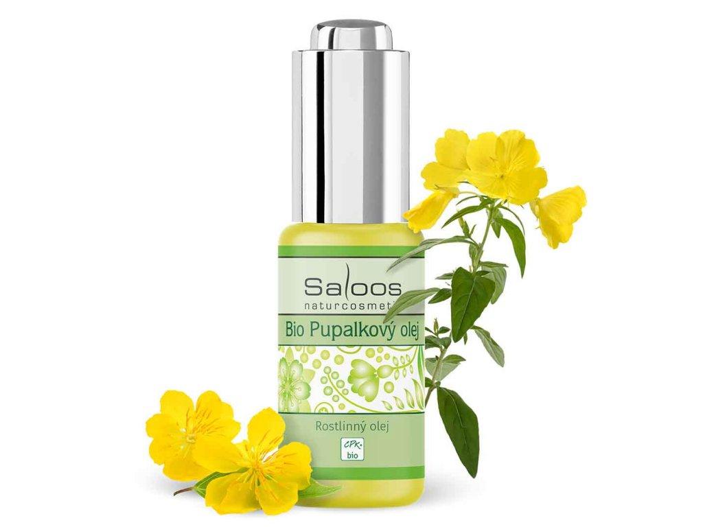 Saloos Bio Pupálkový olej lisovaný za studena (varianta 1000ml)