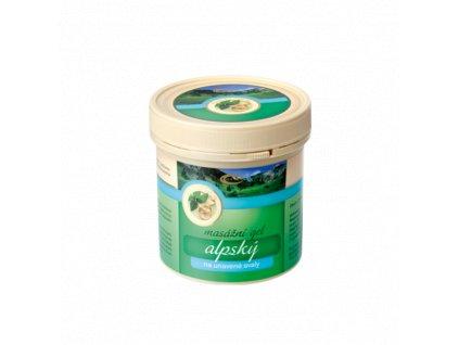 TOPVET Alpský masážní gel 250ml