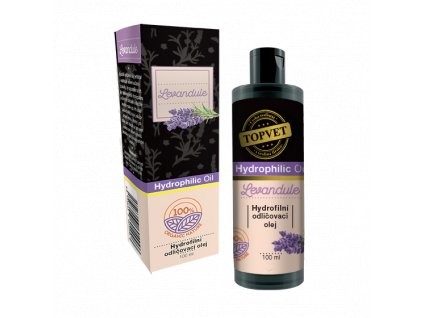 TOPVET Hydrofilní odličovací olej - Levandule 100ml