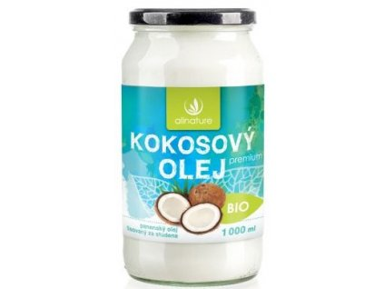 kokosový olej all.