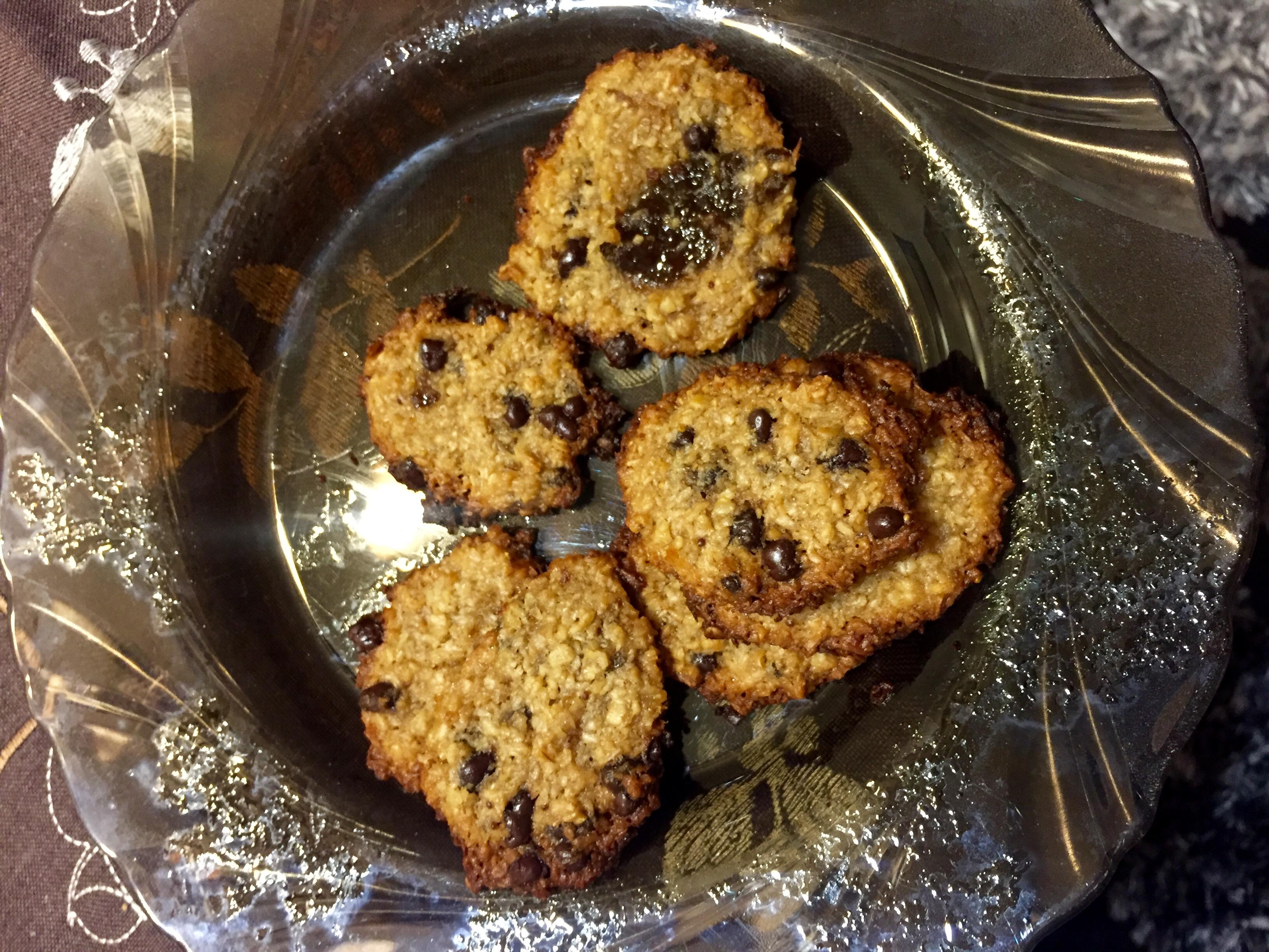 Sušienky (cookies) z ovsených vločiek