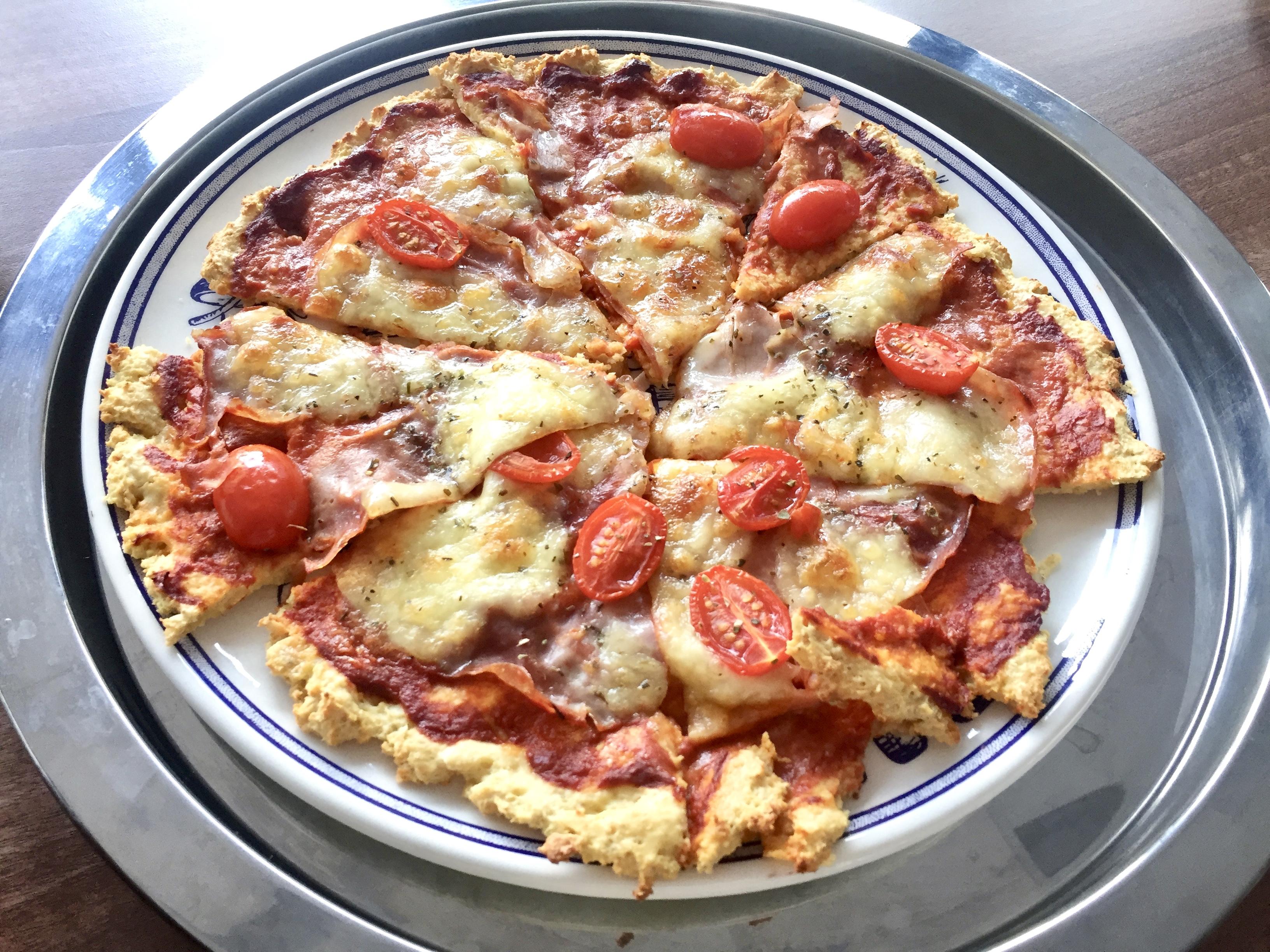 Pizza z ovsených vločiek