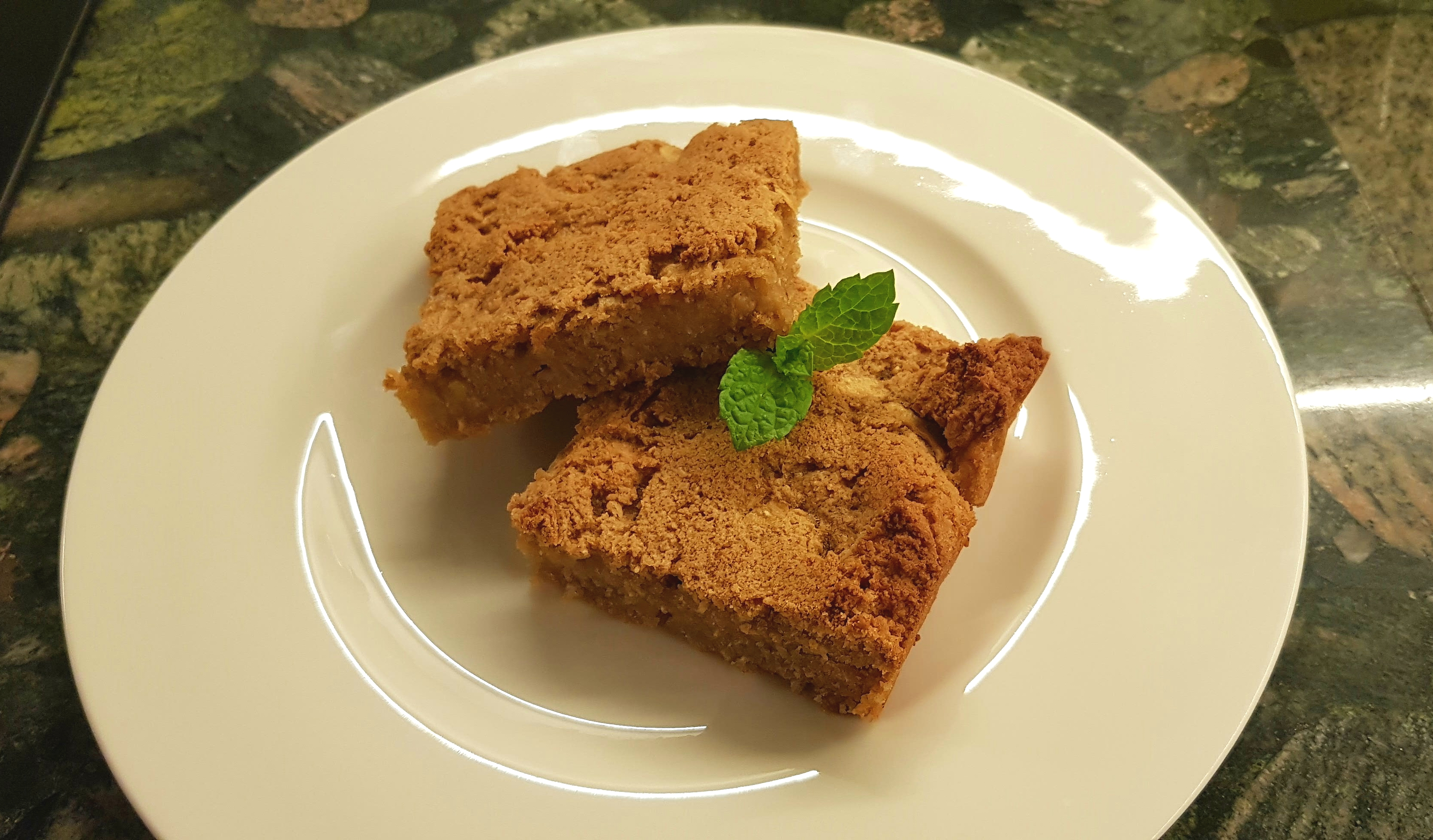 Jablkový koláč so zmesou na pečenie Anifitt